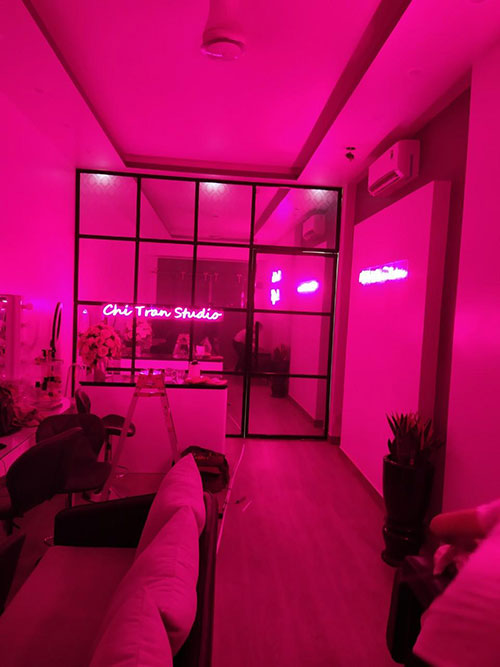 bien led neonsigin chi tran studio hai phong